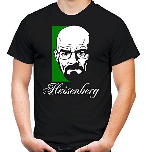 Heisenberg Männer und Herren T-Shirt | Spruch Walter White Geschenk | M1 (M, (Crystal Meth Kostüm)