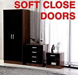 Gladini High Gloss 3 Piece Bedroom Furniture Set - Best Reviews Guide