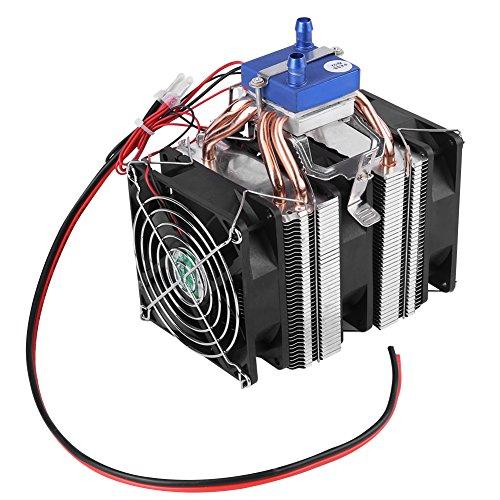Elektrische Lüfter (DIY Mini Dual-core Elektrischen Halbleiter Kühler Modul Thermoelektrischen Peltier Kühlschrank Aquarium Kühler Lüfter Kühlsystem(120W(30L Aquarien)))