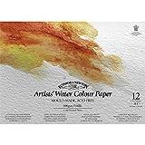 Winsor & Newton - Blocco di carta per acquerello con spirale, 40 x 30 cm