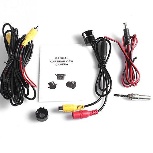51oMlidvPGL - PolarLander Cámara de visión Trasera de 18.5mm Cámara de Coche HD CCD de Aparcamiento Colorido de Pantalla de Copia de Seguridad inversa NTSC/PAL Impermeable