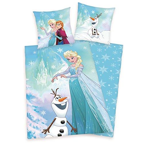 che 135 x 200 cm Frozen Anna Elsa Olaf Baumwolle (Hello Kitty Baby-artikel)