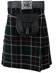 Tartanista - Kilt écossais (Highland) MacKenzie - 4,57 m (5 yards)/283 g (10 oz)