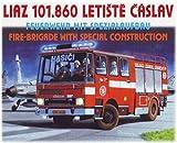 Modellbau Kunststoff Modellbausatz LIAZ 101.860 Feuerwehr mit Spezialaufbau SDV 1:87 H0