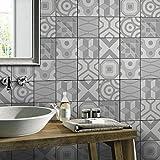JY ART Wand-Aufkleber Küche Deko Badezimmer-Gestaltung - Küchen-Fliesen überkleben - Dekorative Bad-Gestaltung - Fliesen-Aufkleber 20cmx5m HB025, 20cm*5m