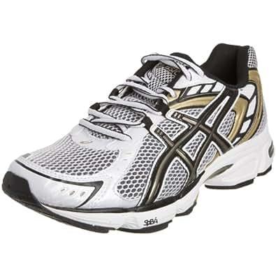 Asics Men's Gel Asperatus Running Shoe White/Black/Gold