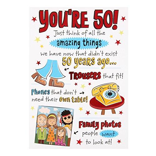 50th Birthday Cards Simplyeighties Com