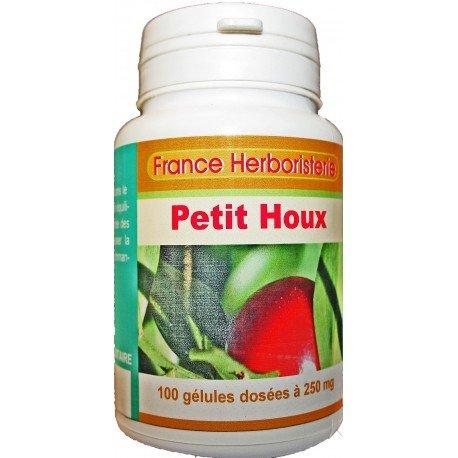 GELULES FRAGON épineux (Petit Houx) 100 gélules dosés à 250 mg.