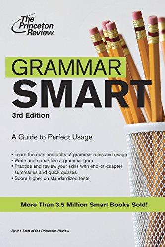 The Princeton Review Grammar Smart