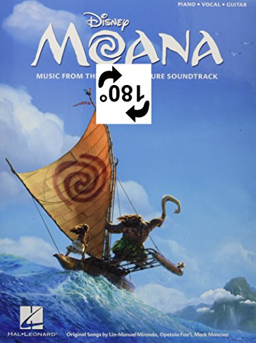Moana: Music from the Motion Picture Soundtrack: Piano-Vocal-Guitar por Lin-Manuel Miranda