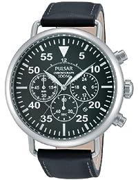 Pulsar  Sport - Reloj de cuarzo para hombre, con correa de sintético, color negro