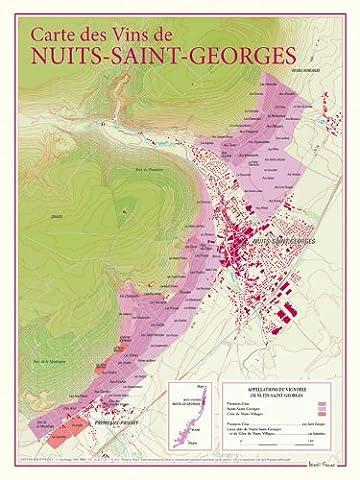 Nuits Saint Georges - Carte des vins de