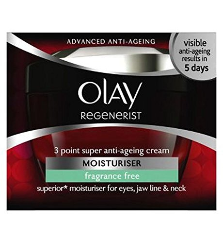 Regenerist De Olay 3 Points De Super Parfum Anti-Âge Hydratant Sans 50Ml - Lot De 2