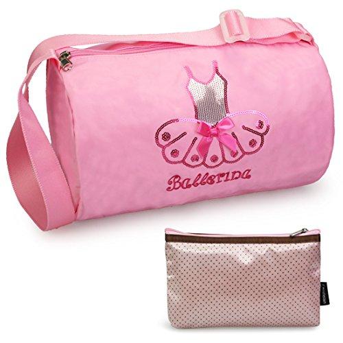 kilofly , Damen Henkeltasche One Size, Pink - Pink Tutu - Größe: One (Für Teens Tutus)