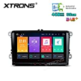 Xtrons 22,9cm Octa Core Android 6.0multi touch screen autoradio stereo GPS per VW Golf Tiguan Touran