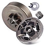 7T Kupplungsspindellagerscheibe Federscheibe E-Clip Passend für Stihl 026 MS260 024 MS240