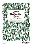 Unsere Weihnachtslieder: Sopran- und Alt-Blockflöte oder Sopran-Blockflöte allein.