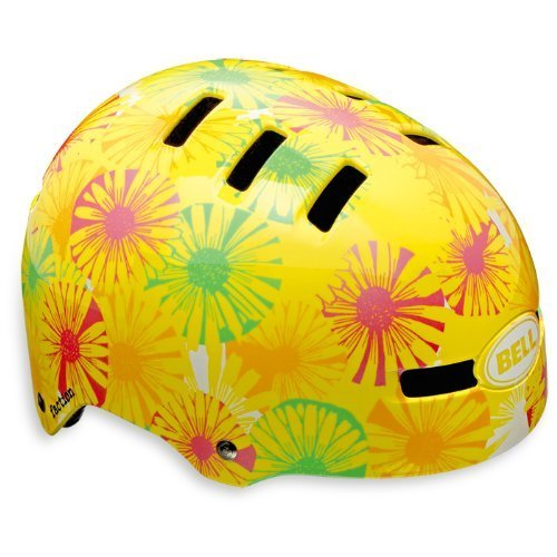 Bell Fahrradhelm Faction, yellow flowers, 58-63 cm, 210027069 by Bell