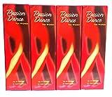 4 x Avon Passion Dance Eau de Toilette für Damen 50 ml (4 Stück)