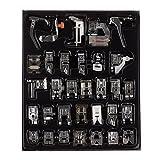 Piedino per macchina da cucire kit orlo piede accessori parti di ricambio per Brother Singer, set da 32pz
