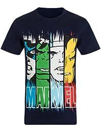 Marvel Comics Official Gift Mens Character T-Shirt Iron Man Thor