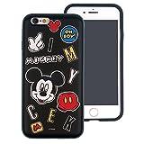 iPhone 6S Plus/iPhone 6Plus Coque, Disney Mignon Couche Hybride [TPU + PC] Coque Bumper [Absorption des Chocs] pour Iphone6s Plus/iPhone6Plus Icon Mickey Mouse (iPhone 6S Plus/iPhone 6 Plus)