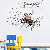 GOUZI Wasserdichten Plane 60 * 90 m Wall Sticker Abnehmbare Wall Sticker für Schlafzimmer Wohnzimmer Hintergrund Wand Bad Studie Friseur