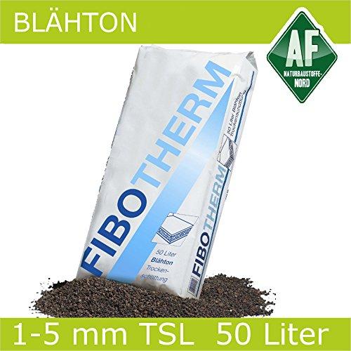 Blähton 1 - 5 mm rund und gebrochen 50 Liter FIBOTHERM Trockenschüttung