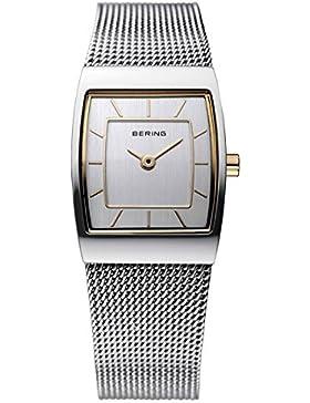 Bering Time Damen-Armbanduhr XS Classic Analog Quarz Edelstahl 11219-000
