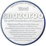 Halloween Scary Clown 'IT' Snazaroo Water Based Face & Body Make Up For Fancy Dress - White 18ml