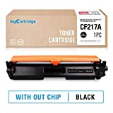 Mycartridge kompatibel HP 17A CF217A Schwarz Toner ohne Chip für HP Laserjet Pro M102a M102w MFP M130a M130nw Drucker
