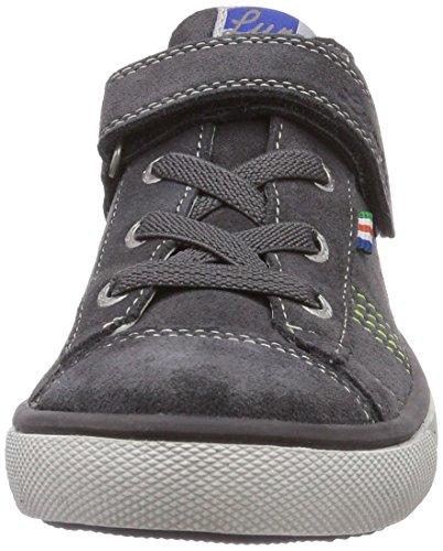 Lurchi Shaggy II, Low-Top Sneaker bambino Grigio (Grau (charcoal 25))