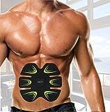 Fitness-Gerät AB Bauchtrainer Fitnessgürtel Elektroschock Trainingsgeräte Bauch Abdominal Schlank Toning Belt für Männer und Frauen