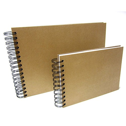 A4/A5/Square Scrapbook, Kraft, Photo Album, Guestbook, for sale  Delivered anywhere in UK