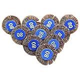 100Schleifen Schleifpapier Lamellenschleifer Disc 80# Körnung für Dremel Schaft Rotary Tools