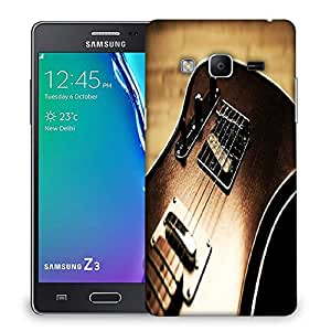 Snoogg Rock Guitar Designer Protective Phone Back Case Cover For Samsung Galaxy Tizen T3