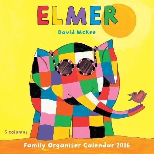Elmer family organiser wall cale...