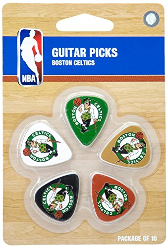 nba-boston-celtics-guitar-pick-10-pack-1-inch-x-1-3-16-inch-green
