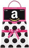 Amazon.de Geschenkkarte in Geschenkkuvert - 30 EUR (pinke Schleife)