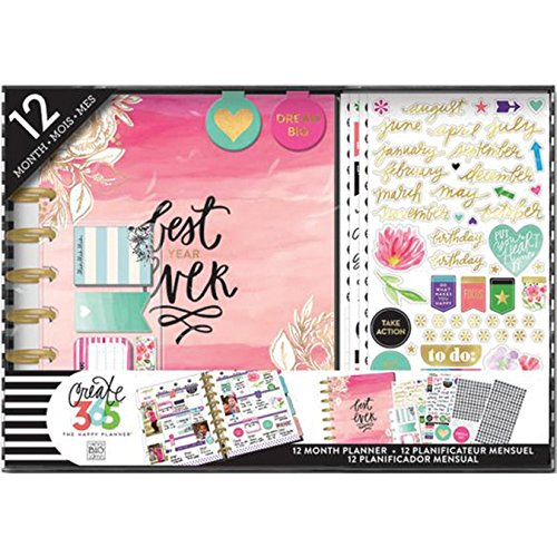 Me & My Big Ideas Create 365 HP Best Year - Kit di Pianificazione, Carta, Multi-Colour, 25.5 x 36.5 x 3.8 cm