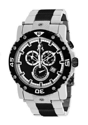 Jivago Men's 'Titan' Swiss Quartz Stainless Steel Casual Watch, Color:Two Tone (Model: JV9122XL)