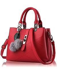 sac a main cuir rouge