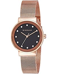 Giordano Analog Black Dial Women's Watch - A2047-11
