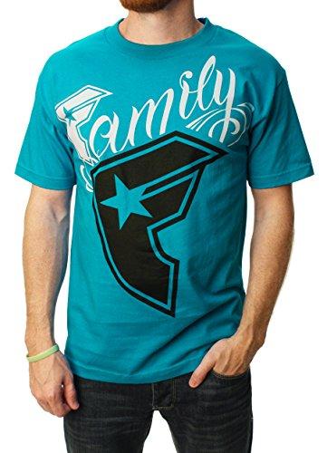 Famous Stars And Straps T-Shirt: Big Wildcat BK Blue