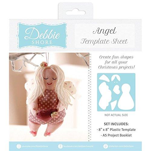 Debbie Shore Template Sheet - Angel -
