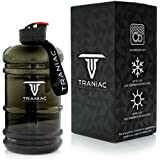 TRANIAC - Train Like A Maniac Leakproof, Dishwasher Safe, Lightweight and Easily Portable Tritan Water Bottle for Men and Women, 2.2L (Traniac-2049)
