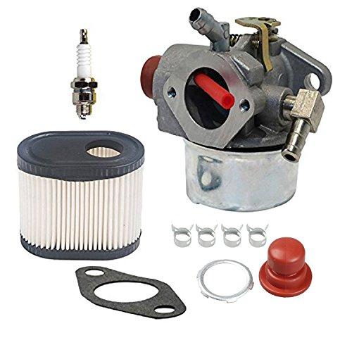 Preisvergleich Produktbild OxoxO Carburetor Carb Kit With Air Filter Spark Plug for Toro 20016 20017 20018 6.75HP Engines Tecumseh LV195EA LV195XA
