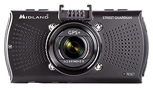 gps guardian: Midland Street Guardian Plus GPS Dash Camera, Negro modland