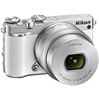 Nikon 1 J5 20.8MP Digital SLR Camera with 10-30mm Lens Compact System Camera (White)