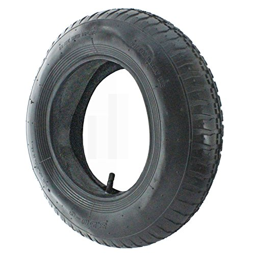SPARES2GO Wheelbarrow Wheel Tyre...